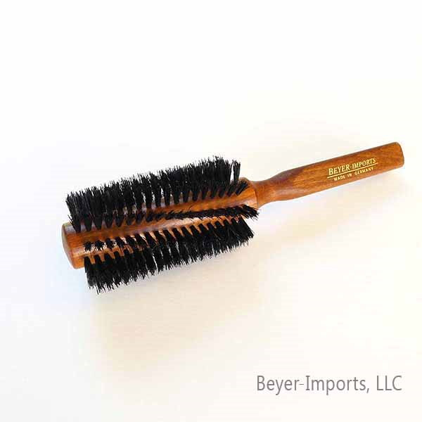 Boar Bristle Styling Brush, larger (100% Boar), Beech wood #051-L